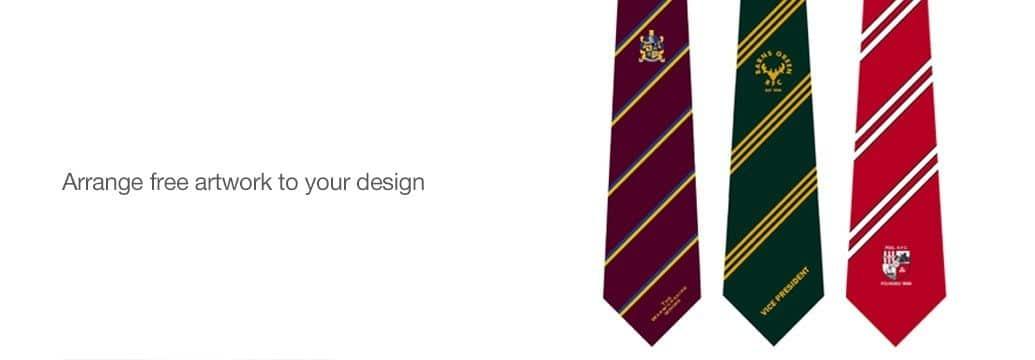 club ties for teams organisations from keltic ties
