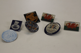Enamel badges
