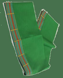 Jacquard trim scarves