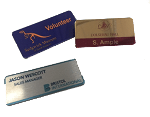 Engraved Custom Name Badges | Personalised Badges