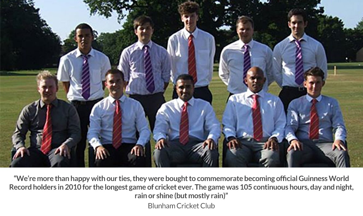 Cricket Club Ties 11