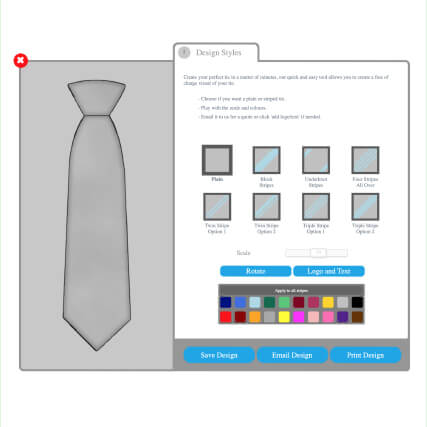 Design your own Tie