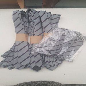 NEW card wrapped ties