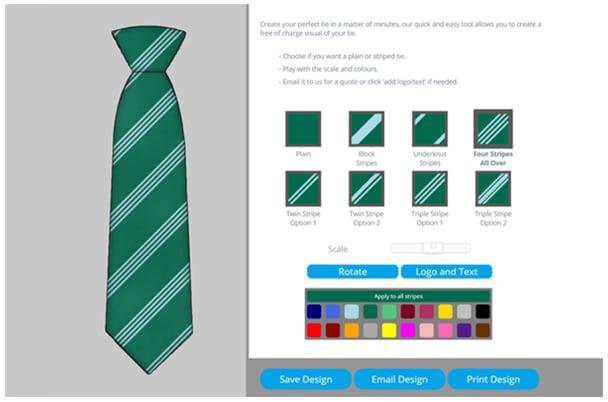tie-designer